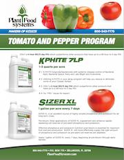 Tomato and Peper Program
